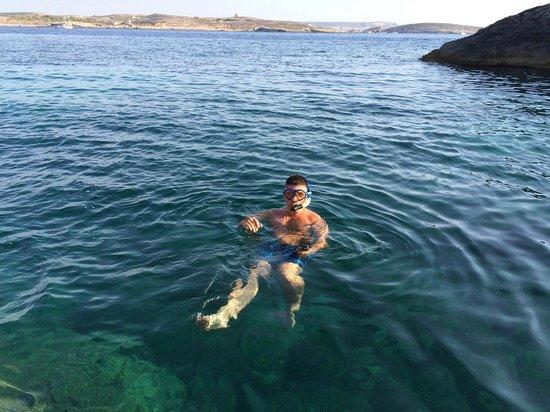Hondoq Bay: Grieta para hacer Snorkel