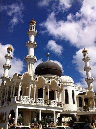 Suriname City Mosque: Up close