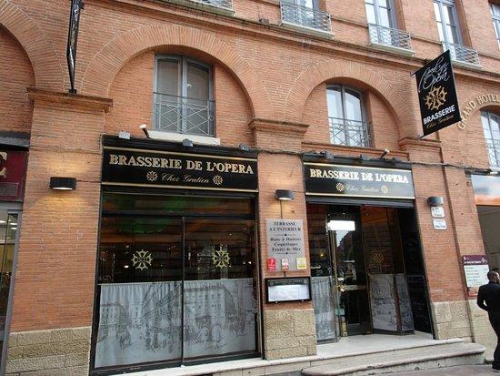 Brasserie du Grand Café de l'Opéra: 外観
