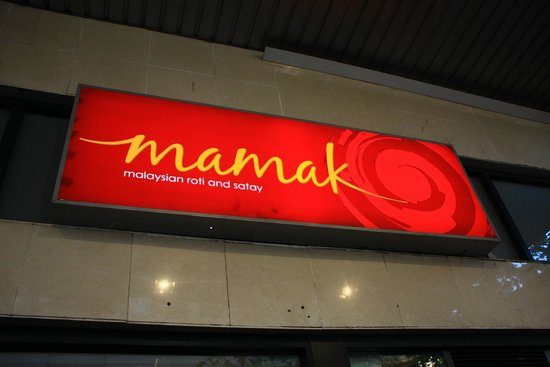 Mamak : The sign says it all