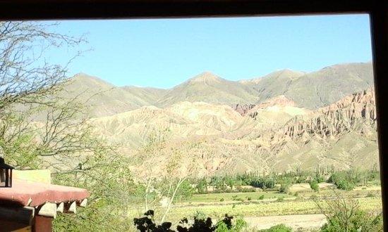 Cerro Chico: Vista desde el comedor, desayunando