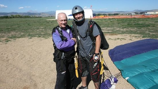 Mile-Hi-Skydiving: It's all over!