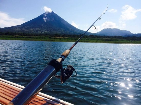 Captain Ron's Lake Arenal Fishing Tours: Can't beat the scenery and the education from Ron