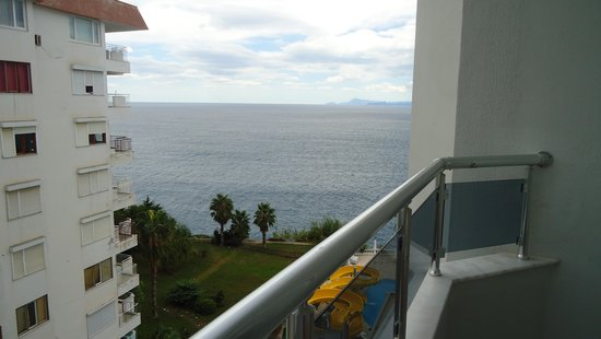 Antalya Adonis Hotel : вид на море с балкона