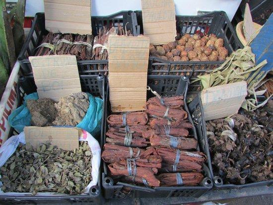 Sao Joaquim market : spezie