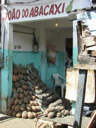 Sao Joaquim market : ananas