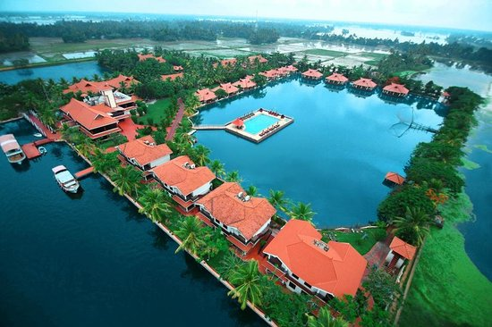 Lake Palace Resort: Areal View