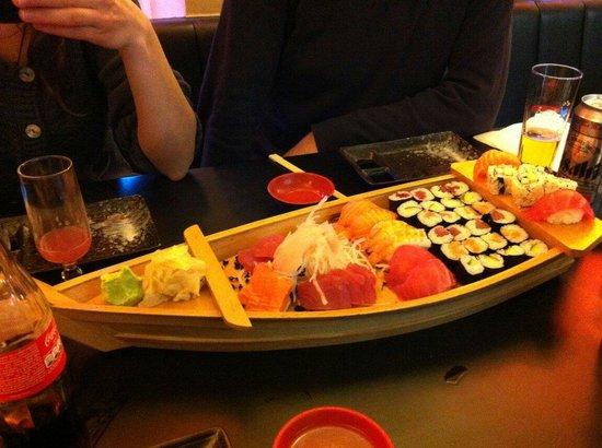 Osaka : Bâteau de différentes variétés dans le cadre de la formule a volonté pour 3 personnes