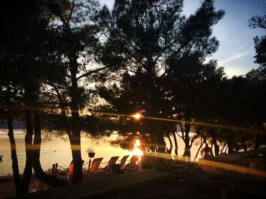 Krk Island, Hrvatska: SUNSET @MOCCA