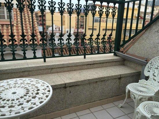 Hotel Reyesol: Балкон на 3 этаже