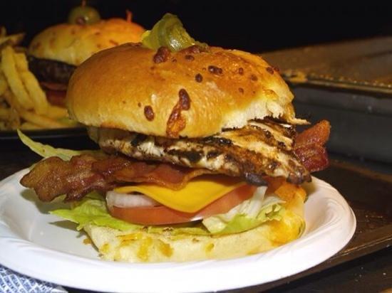Rooster's: grilled chicken sandwich