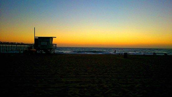 Surf City Hostel : Strand