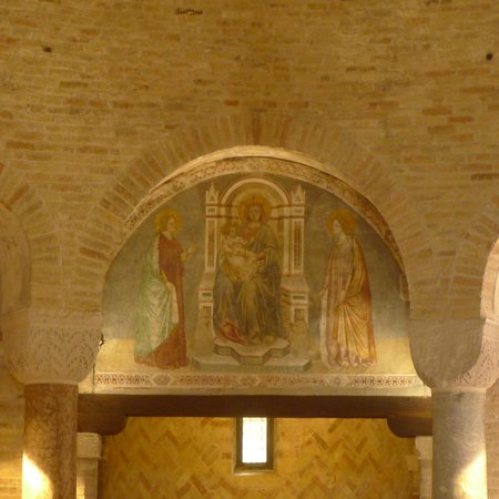 Chiesa di Santa Sofia : Restored Fresco