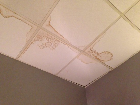 Hotel Montgrand : Plafond de la chambre