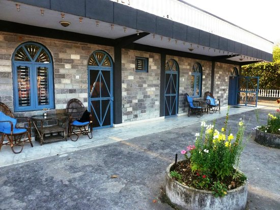 Sacred Valley Inn Pokhara: The roof terrace also houses three rooms