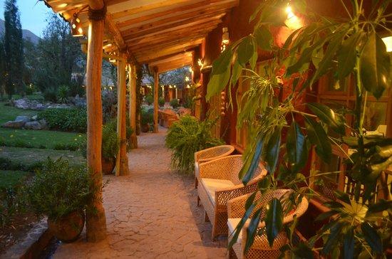 Villa Urubamba Sacred Valley: front of the restaurat