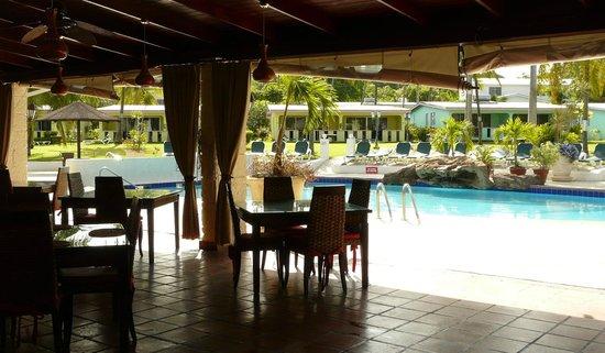 All Seasons Resort Europa: ristorante vista piscina
