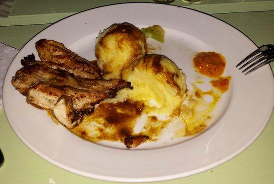 Surfside Restaurant & Beach Bar: Pan Bread Chicken
