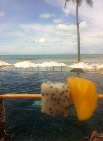 Anantara Lawana Koh Samui Resort: Vistas desde la piscina