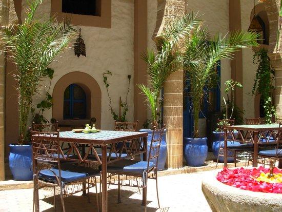 Riad Al Madina : Le patio
