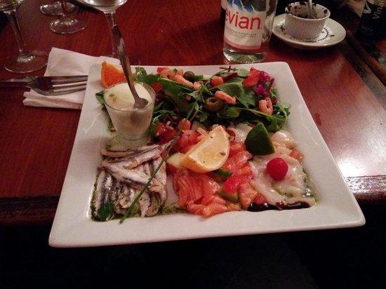 Hugo: Main - Salad of the Sea