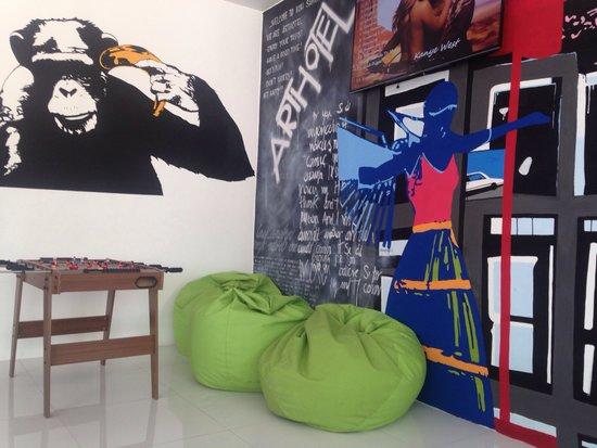 Art Hotel: Lobbi