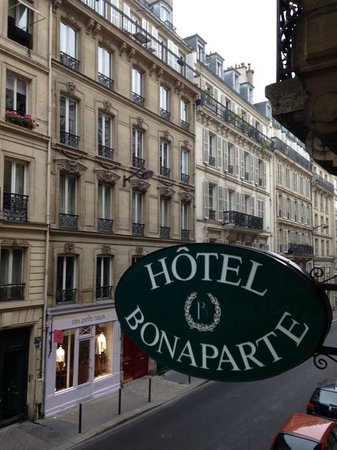 Hotel Bonaparte : View from the hotel room