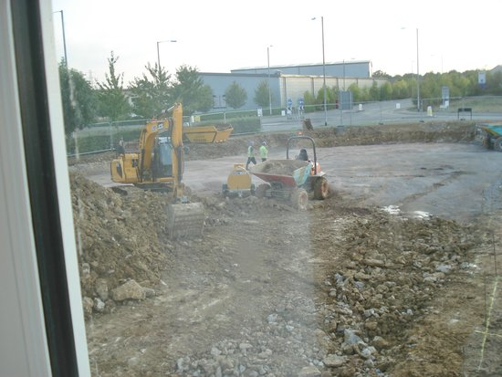 Premier Inn Frome Hotel: View from room 140