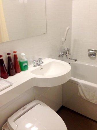 Toyooka Green Hotel Morris : 浴室