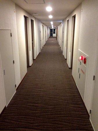 Toyooka Green Hotel Morris : 廊下
