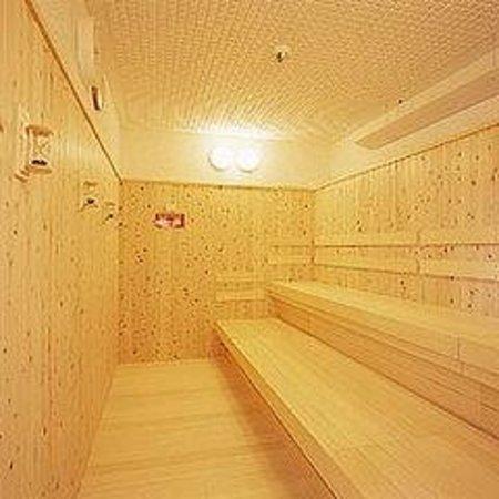 Tourist Inn Kochi: 9F男性浴場 サウナ