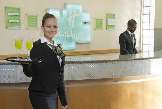 Holiday Inn Bulawayo : Hearty Welcome