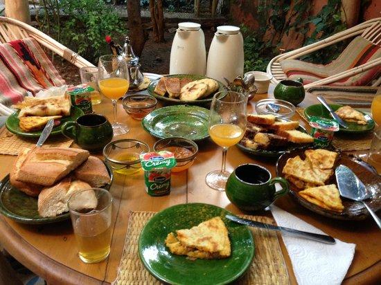 Maison d'hotes Dar Farhana: le petit-déjeuner