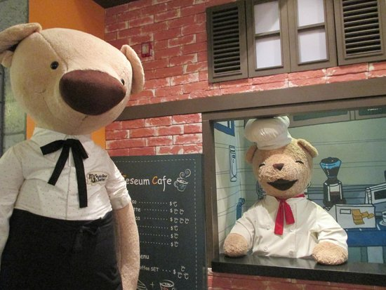 Teddy Bear Museum Jeju: chef teddy