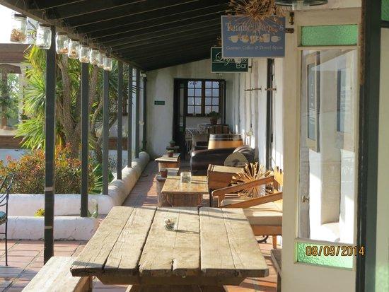 The Farmhouse Hotel: verandah