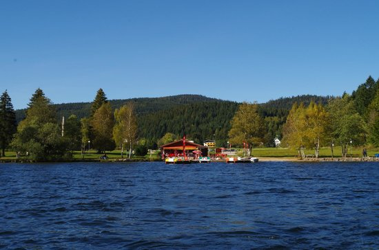 Xonrupt-Longemer, ฝรั่งเศส: Lac de Longemer