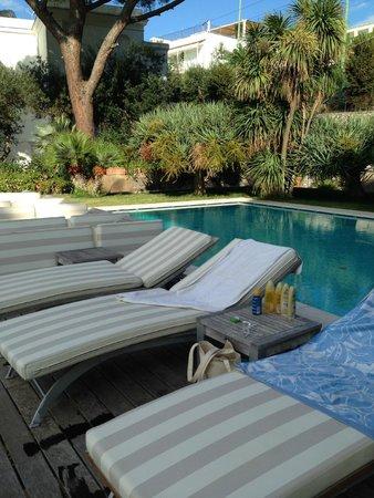 Hotel Canasta : pool area