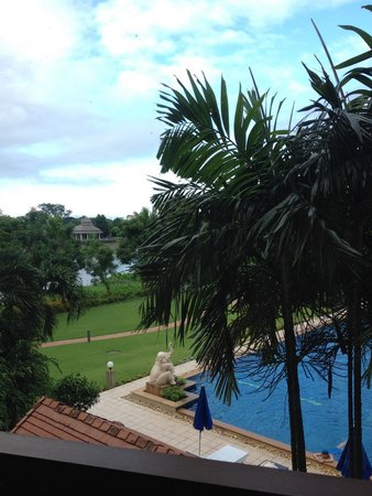The Imperial River House Resort: The view from our room