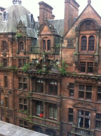 Park Inn by Radisson: Gothic Glasgow views