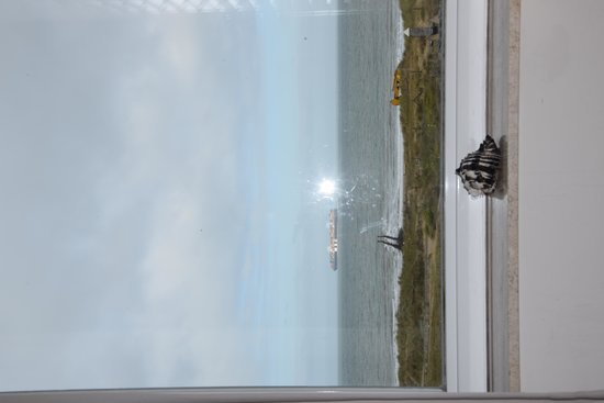 Hotel Noordzee: View from our room...