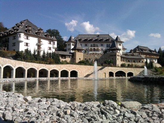A-ROSA Resort Kitzbühel: Hoteleinfahrt