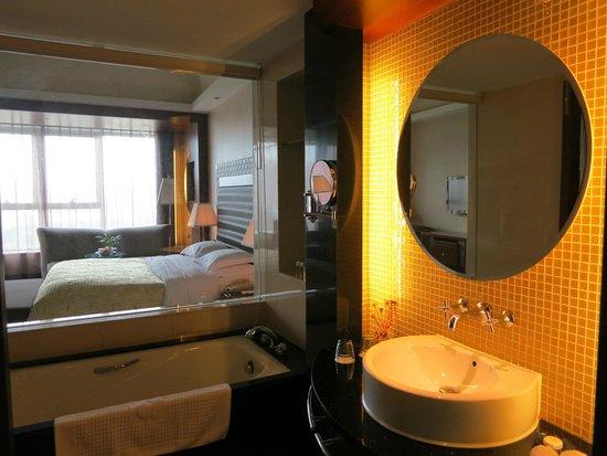 Grand Skylight Garden Hotel: Bathroom