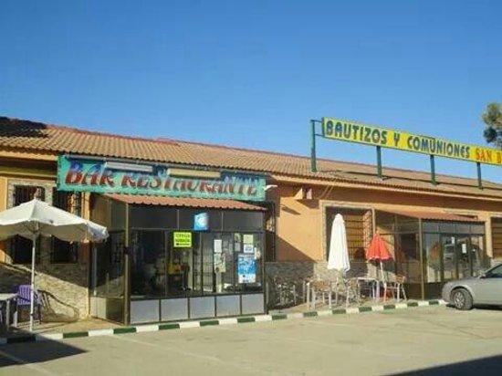 Corral de Almaguer, Spania: Entrada restaurante
