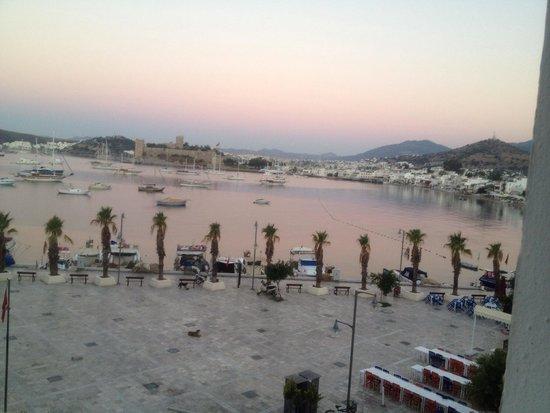 Bodrum Gulet Hotel : Oda manzaramı/view from our room