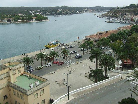 Yellow Catamarans: catamaran in port