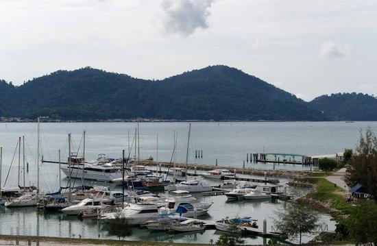 Marina Island Pangkor Resort & Hotel : Views from the balcony