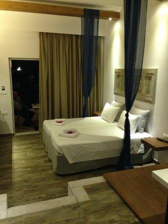 Hotel Lindos View: Sleeping area