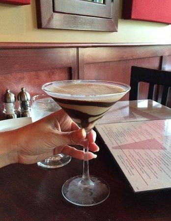 Mio Vino Wine Bar & Bistro: Chocolate Martini at Mio Vino