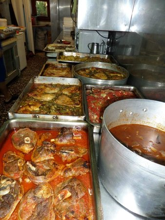 Agia Marina, Greece: MANOLIS TAVERNA-RESTAURANT-GREEK FOOD