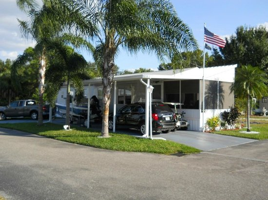 Arbor Terrace RV Resort: Manufactured Homes